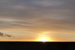 zon gaat onder ©Katrien Meganck