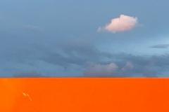 variatie wolk en oranje©Katrien Meganck